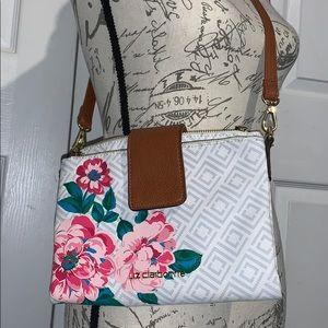 Liz Claiborne across the shoulder strap purse